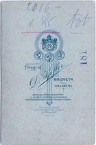 Rückseitenaufdruck von Inv.-Nr. vuCAB-00043