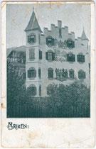 Ansitz NEIDHAIMB beim Lüsner Tor (auch Unterdritteltor) in Brixen am Eisack um 1900. Autotypie 9x14cm; kein Urhebernachweis.  Inv.-Nr. vu914at00008