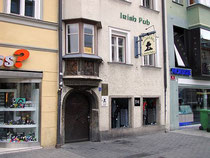 LIMMERICK BILL'S Irish Pub in Innsbruck, Innere Stadt, Maria-Theresien-Straße 9. Digitalphoto; © Johann G. Mairhofer 2012.  Inv.-Nr. 1DSC04186