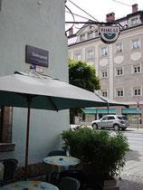 Thailändisches Restaurant in der Innsbrucker Altstadt, Seilergasse 12 an der Einmündung in den Marktgraben. Digitalphoto; © Johann G. Mairhofer 2011.  Inv.-Nr. DSC01519