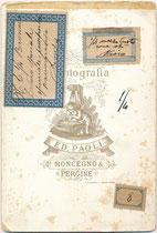Bedruckte Rückseite von Inv.-Nr. vuCAB-00368