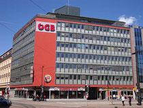 Gebäude der Landesorganisation Tirol des Österreichischen Gewerkschaftsbundes in Innsbruck, Südtiroler Platz 14-16. Digitalphoto; © Johann G. Mairhofer 2013.  Inv.-Nr. DSC06771