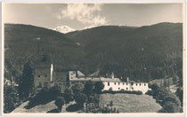 Burg TRAUTSON von Westen. Gelatinesilberabzug 9x14cm; wohl Privataufnahme ohne Impressum um 1925.  Inv.-Nr. vu914gs00362