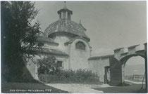 Ansitz REINSBERG in St. Pauls, Gemeinde Eppan. Gelatinesilberabzug 9x14cm; A(lfred). Stockhammer, Hall in Tirol 1912.  Inv.-Nr. vu914gs00114