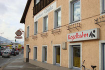 "Gasthof ""Tengler"" mit Kegelbahn in Innsbruck, Höttinger Au Nr. 60. Digitalphoto; © Johann G. Mairhofer 2016.  Inv.-Nr. 2DSC03917"