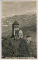 Burg BRANZOLL über Klausen. Gelatinesilberabzug 9x14cm; Theo Forstner, Klausen um 1935.  Inv.-Nr. vu914gs00102