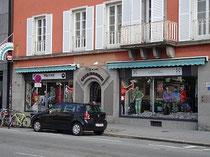 Geschäftslokal der Firma SPORT GRAMSHAMMER in der Wilhelm-Greil-Straße 19 in Innsbruck. © Johann G. Mairhofer 2012.  Inv.-Nr. DSC04420