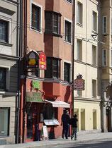 Indisches Restaurant SAHIB in Innsbruck, Innere Stadt, Seilergasse 3. Digitalphoto; © Johann G. Mairhofer 2012.  Inv.-Nr. DSC02787