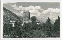 Burg PETERSBERG in Silz. Gelatinesilberabzug 9x14cm; Gustav Hagner, Peter-Mayr-Str. 4, Innsbruck um 1935.  Inv.-Nr. vu914gs00377