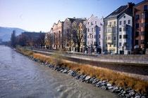 Mariahilfstraße von Osten. Farbdiapositiv 24x36mm; © Johann G. Mairhofer 1992. Inv.-Nr. dc135fuRD147.1_19