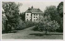 Schloss Wagrain der Herren von Ebbs, urkundl. erstm. 1471 erwähnt in Ebbs. Impressum: Pressebildverlag Gerhard Graeber, München; postalisch gelaufen 1943.  Inv.-Nr. vu914gs00398