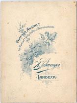 Bedruckte Rückseite von Inv.-Nr. vuCAB-00259