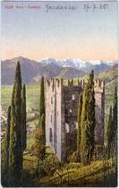 Castel Arco. Photochromdruck 9 x 14 cm; Impressum: Edition Photoglob Zürich um 1905. Inv.-Nr. vu914pcd00064