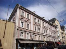 Palais Wolkenstein, Universitätsstraße 3 vis à vis der Theologischen Fakultät. Digitalphoto; © Johann G. Mairhofer 2012.  Inv.-Nr. DSC02777