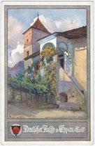 Ansitz Kreith in Kreuzweg, Fraktion St. Michael, Gemeinde Eppan. Farbautotypie 9 x 14 cm; Impressum: Deutscher Schulverein um 1910.  Inv.-Nr. vu914fat00008