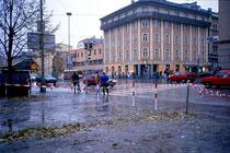 Schüler- und Lehrlingsheim in Innsbruck, Innrain 43. Farbdiapositiv 24x36mm; © Johann G. Mairhofer 1992.  Inv.-Nr. dc135fuRD147.1_18