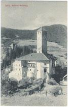 Burg WELSPERG und Ruine THURNS. Lichtdruck 9 x 14 cm; Impressum: Edition Photoglob, Zürich um 1905.  Inv.-Nr. vu914ld00091