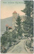 Burg Reinegg in Sarntal. Farblichtdruck 9 x 14 cm; Hofkunstanstalt Otto Henning, Greitz 1906/07.  Inv.-Nr. vu914clg00025