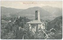 Burg WELSPERG und Ruine THURNS. Lichtdruck 9 x 14cm; Impressum: Stengel & Co., Dresden 1902.  Inv.-Nr. vu914ld00090