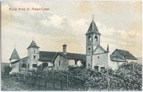 Ansitz Kreith in Kreuzweg, Fraktion St. Michael, Gemeinde Eppan. Lichtdruck 9 x 14 cm; Impressum: A. Dona, St. Michael-Eppan um 1910.  Inv.-Nr. vu914ld00080