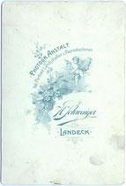Rückseitenaufdruck von Inv.-Nr. vuCAB-00050