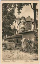 Ansitz ACHENRAIN (auch als Schloss TAXIS bezeichnet) in Kramsach, Bezirk Kustein. Heliogravüre 9x14cm; Rob(er). Armütter, Rattenberg um 1935.  Inv.-Nr. vu914hg00009