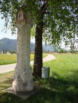 Bildstock in Liesfeld, Gemeinde Kundl, Bezirk Kufstein, Tirol. Digitalphoto; (c) Johann G. Mairhofer 2011.  Inv.-Nr. DSC01419