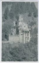 Burg WELFENSTEIN in Freienfeld. Gelatinesilberabzug 9x14cm, um 1920; kein Urhebernachweis.  Inv.-Nr. vu914gs00132