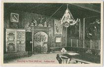 Rathaussaal der Stadt Sterzing. Lichtdruck 9 x 14 cm; Impressum: Stengel & Co., Dresden 1911.  Inv.-Nr. vu914ld00200