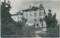 Ansitz REINSBERG in St. Pauls, Gemeinde Eppan. Gelatinesilberabzug 9x14cm; A(lfred). Stockhammer, Hall in Tirol 1911.  Inv.-Nr. vu914gs00113