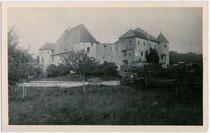 Ansitz GLURNHÖR (Hebenstreit) in St. Lorenzen, Fraktion Sonnenburg. Gelatinesilberabzug 9x14cm; F. PETER, Meran um 1920. Inv.-Nr. vu914gs00149