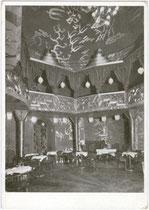 """Kabarett """"Odeon-Kasino - Palais de Danse"""" im Gebäude des Hotel """"Stadt München; Erlerstraße 17-19. Autotypie 10x15cm, WUB (Wagner'sche Universitätsbuchdruckerei) um 1930 ohne Impressum.  Inv.-Nr. vu105at00002"""