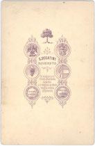 Bedruckte Rückseite von Inv.-Nr. vuCAB-00250