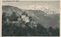 Burg KAMPENN. Rastertiefdruck 9x14cm; Urhebernachweis unkenntlich, um 1920.  Inv.-Nr. vu914rtd00011
