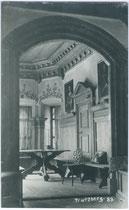 Wand- und Deckengetäfel einer Stube im Schloss TRATZBERG. Gelatinesilberabzug 9 x 14 cm; kein Impressum, um 1910.  Inv.-Nr. vu914gs00457