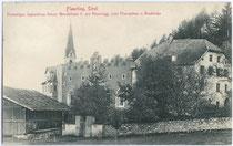 Ehemaliger Jagdhof Kaiser Maximilians I. und Ansitz RIS in Flaurling. Lichtdruck 9x14cm; kein Impressum; postalisch gelaufen 1912.  Inv.-Nr. vu914ld00165