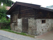 Stadel in der Florianigasse in Kitzbühel. Digitalphoto; © Johann G. Mairhofer 2015.  Inv.-Nr. 2DSC02983
