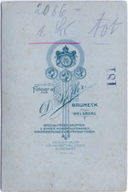 Bedruckte Rückseite von Inv.-Nr. vuCAB-00043