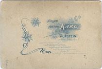 Rückseitenaufdruck von Inv.-Nr. vuCAB-00041