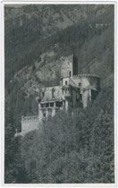 Burg WELFENSTEIN in Freienfeld. Gelatinesilberabzug 9x14cm, um 1920; kein Urhebernachweis.  Inv.-Nr. vu914gs00133