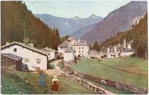 Ehrenberger Klause, Reutte. Farbautotypie 9 x 14 cm; Impressum: Fr. Kraus u. G. Turri, Reutte; postalisch gelaufen 1944.  Inv.-Nr. vu914fat00050