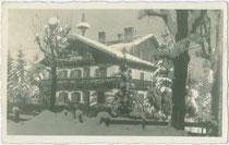 """Villa """"Licht"""" in Kitzbühel, Franz-Reisch-Straße Nr. 8. Gelatinesilberabzug ohne Impressum, um 1925.  Inv.-Nr. vu914gs01118"""
