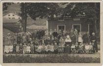 Kinderbewahranstalt in Klausen am Eisack. Gelatinesilberabzug 9x14cm; Th. Forstner, Klausen; handschriftl. dat. 1924.  Inv.-Nr. vu914gs00220