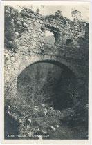Ruine der Burg THAUR. Gelatinesilberabzug 9x14cm; A(lfred). Stockhammer, Hall in Tirol 1926. Inv.-Nr. vu914gs00380