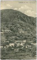 Ehemalige landesfürstliche Zollstation in Kollmann, Gemeinde Barbian im Eisacktal, Südtirol. Lichtdruck 9 x 14 cm; Impressum: Lorenz Fränzl, Bozen um 1910.  Inv.-Nr. vu914ld00151