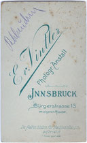 Rückseitenaufdruck von Inv.-Nr. vuVIS-00073