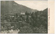 Forsthaus in Pinegg, Gemeinde Brandenberg, Bezirk Kufstein, Tirol um 1905. Verlag S. Rupprechter, Aschau (Gemeinde Brandenberg).  Inv.-Nr. vu914ld00059