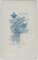 Bedruckte Rückseite von Inv.-Nr. vuCAB-00052
