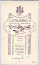 Revers von Visitphoto vuVIS-00038, Siegmund Kofler, k.k. Feldkurat wohl im Standschützenbataillon Sterzing in Dienstmontur