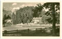 Erholungsheim Egerdach in Amras. Gelatinesilberabzug 9x14cm; Emil Schneider, Pestalozzistraße 5, Innsbruck.  Inv.-Nr. vu914gs00068